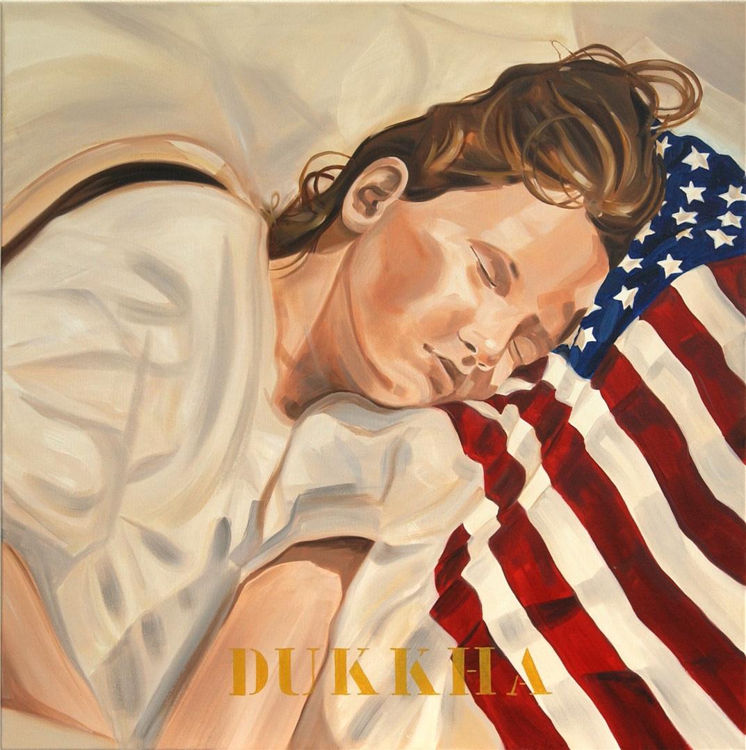 American Dream I, Dukkha, 2004 80x80 cm kopie