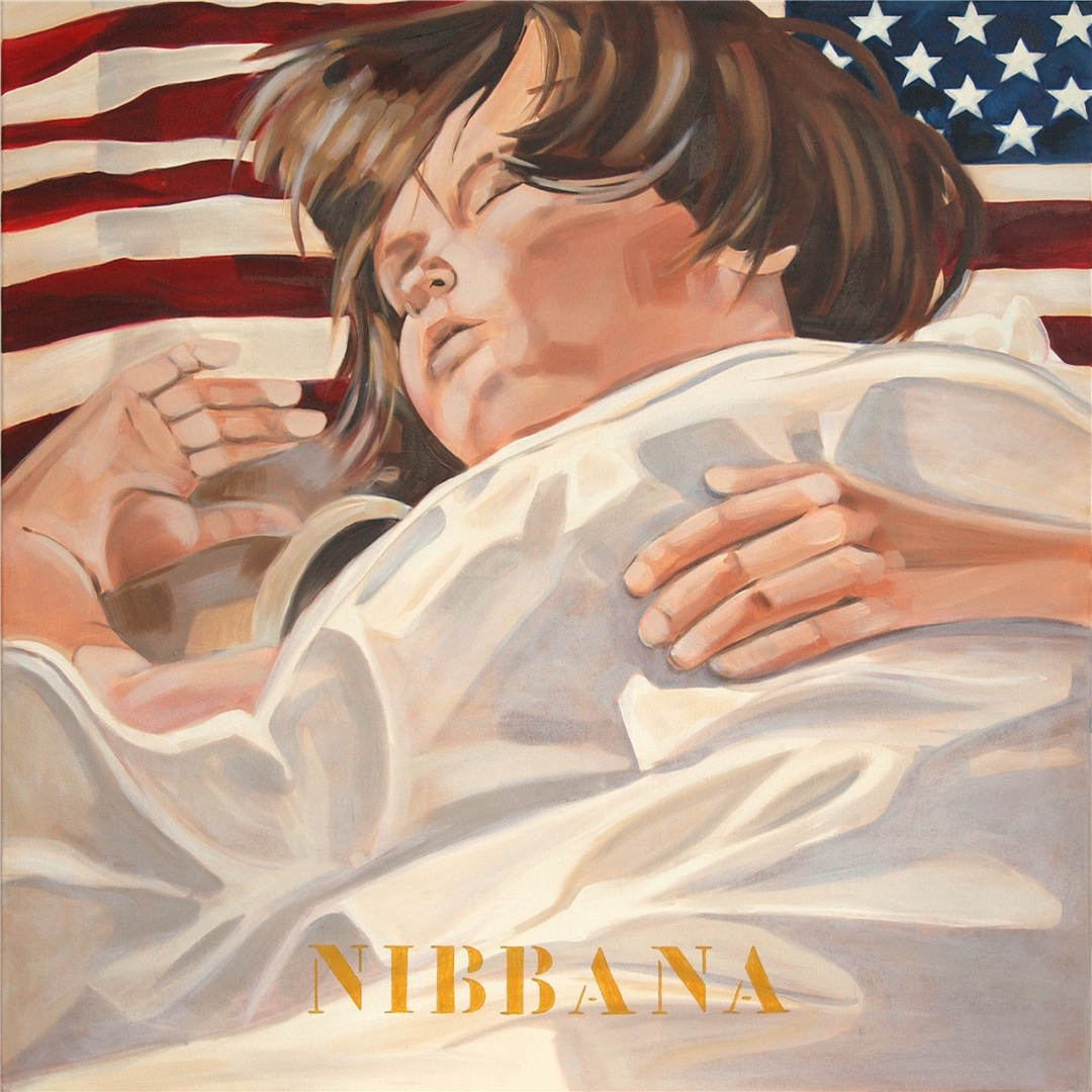 American Dream II, Nibbana, 2004 80x80 cm kopie