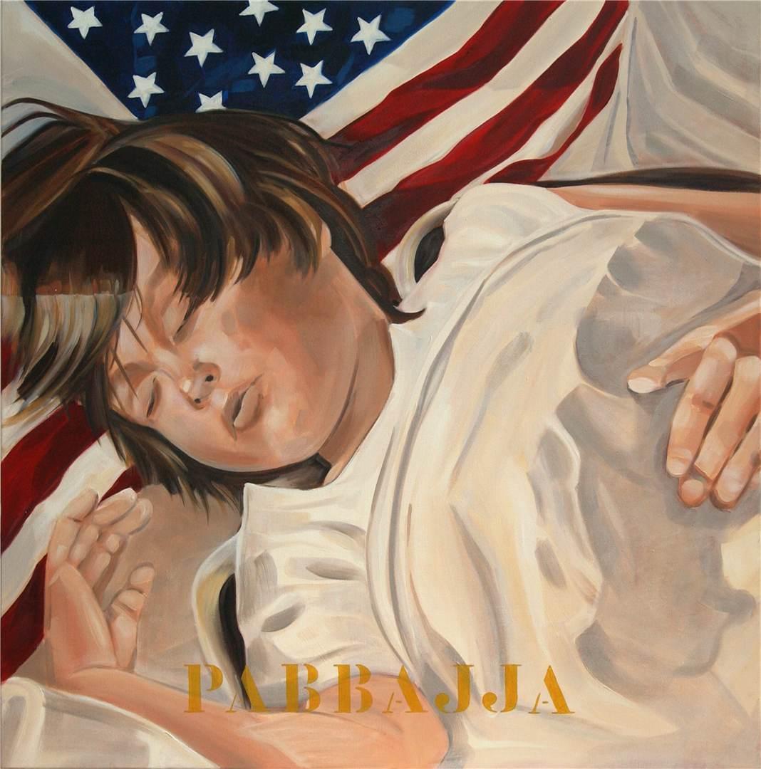 American Dream IV, Pabbajja, 2004 80x80 cm kopie