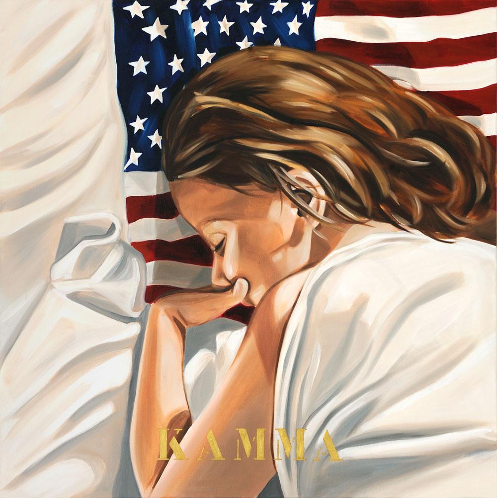 American Dream V, Kamma, 2009 80x80cm
