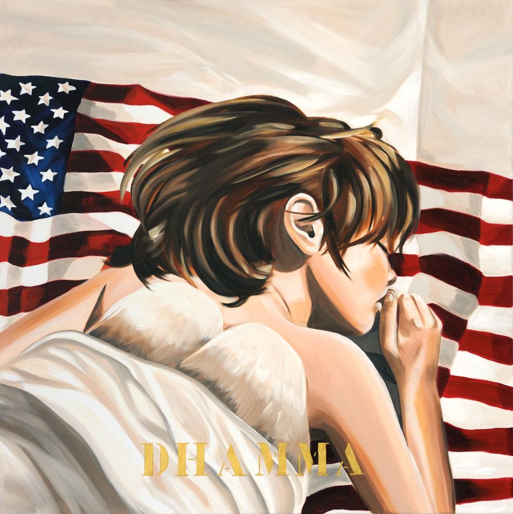 American Dream VI, Dhamma, 2009 80x80cm